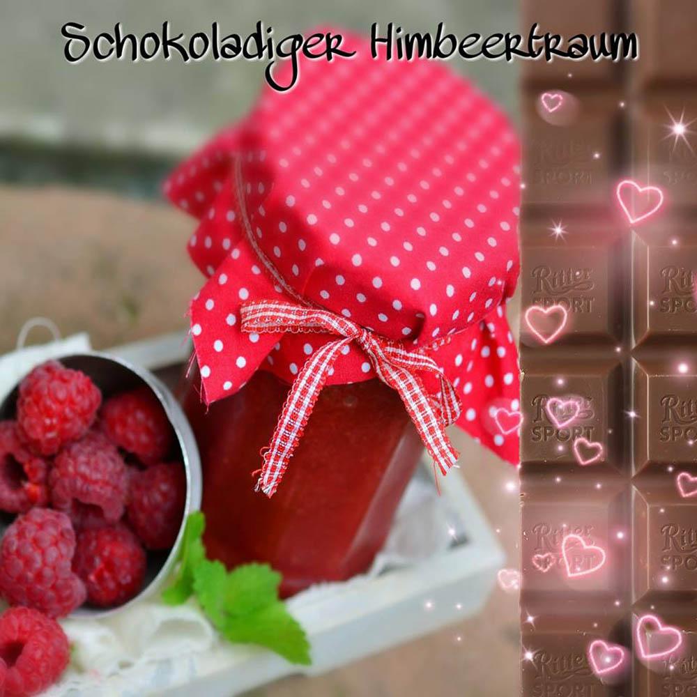 Schokoladen Himbeertraum