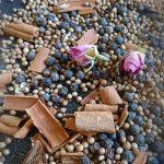 Orientalisches Rosen Zimt Salz