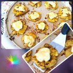 Kartoffel Taler aus dem Backofen