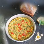 Omelett aus der Stoneware