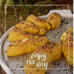 Orientalische Süßkartoffel Stangen