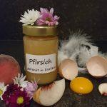 Pfirsich Eierlikoer Marmelade
