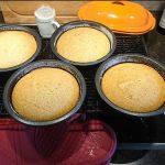 Tortenboden für Naked Cakes Torten